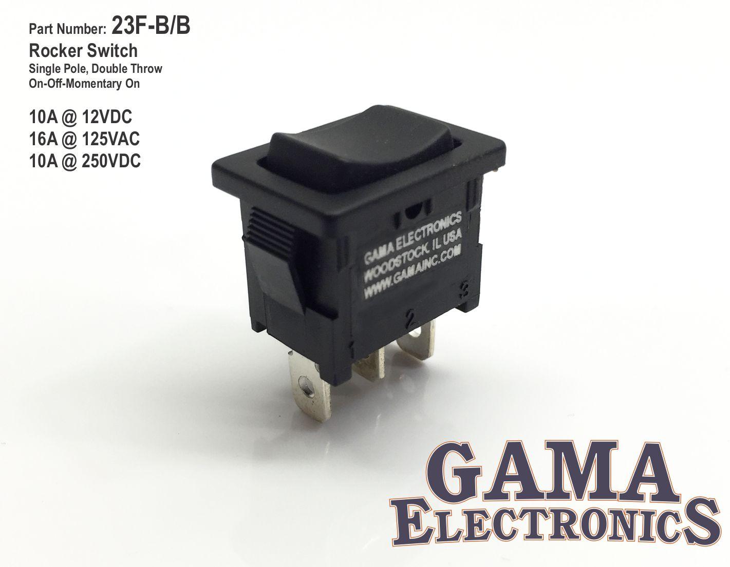 23f Bb Gama Electronics 250vdc Wiring Diagram