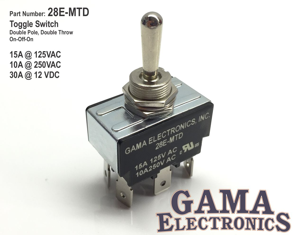 28e-mtd  $10 95 – $19 95  toggle switch, 30a dpdt