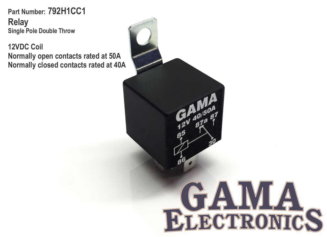 792h1cc1 Gama Electronics Relay Normally Open Vs Closed